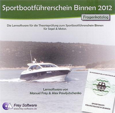Binnen auf cd rom cover sportbootführerschein binnen auf cd