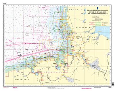 Bsh 3008 Deutschland Nordsee Deutsche Nordseekuste